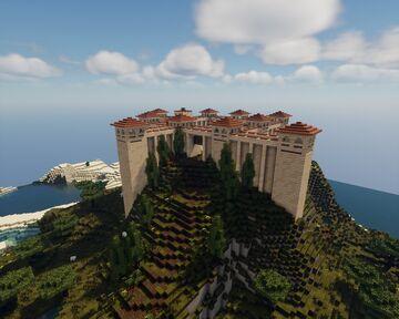 Roman Fortress Minecraft Map & Project