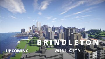 The City of Brindleton   Mini City Minecraft Map & Project