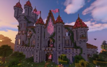 -EverHaven Castle- Minecraft Map & Project