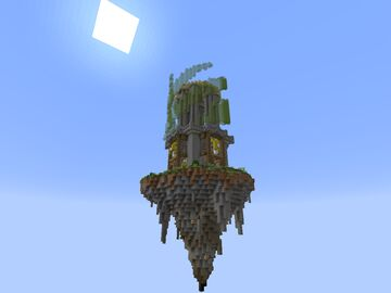 Minecraft Skyblock/Skywars Spawn (Magic Tower) Minecraft Map & Project