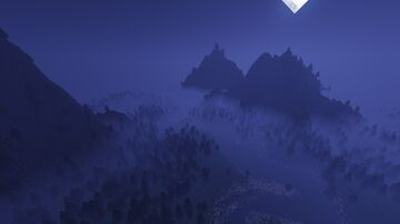 River and mountains Minecraft Map & Project