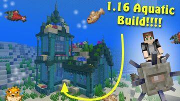 Atlantis 1.16 Base Minecraft Map & Project