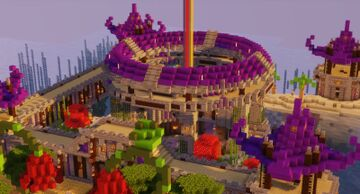 🔮Azura's Rest, A Mages Hideout 🔮 Minecraft Map & Project