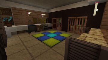 Guest Villa Interior Minecraft Map & Project
