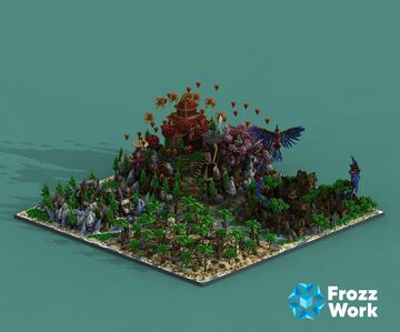 Spawn Of SurvivalRPG Minecraft Map & Project