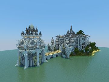Minecraft Divine Castle Lobby Minecraft Map & Project