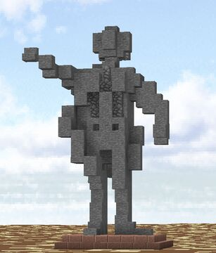 Statue of Lenin Minecraft Map & Project