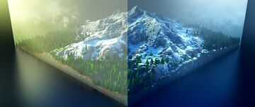 1K Mountain Map 2 [Download] Minecraft Map & Project