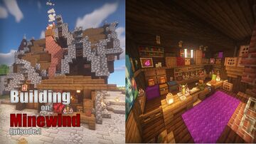Potion Shop Minecraft Map & Project