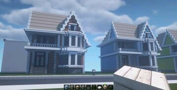 American Houses Minecraft Map & Project