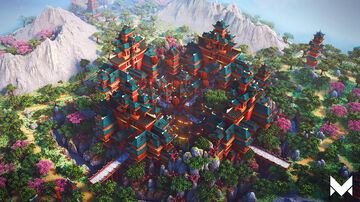 Oriental Sanctuary Minecraft Map & Project