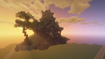 Chinese Temple Minecraft Map & Project