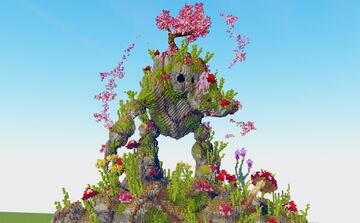 Cherry Blossom Golem Minecraft Map & Project
