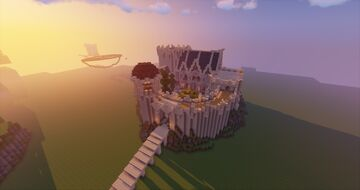 Little High elven Fortress Minecraft Map & Project