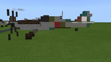 Spitfire MK. XIV Minecraft Map & Project