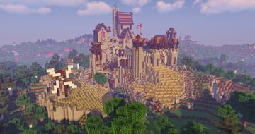 Castle Pep i Companys (timelapse + download) Minecraft Map & Project