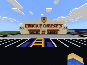 90's Chuck E Cheese Minecraft Map & Project