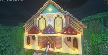 Jungle Mansion Minecraft Map & Project