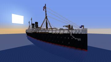 S.S. Empire of Loki 1888 Minecraft Map & Project