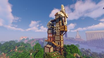 Architecture Madness Minecraft Map & Project