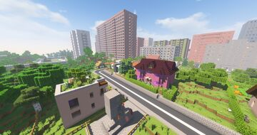 "Проект ""Zettanen"" [1.4.1.7 Beta] Minecraft Map & Project"