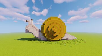 Snail House Minecraft Map & Project