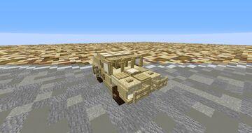 Humvee Minecraft Map & Project