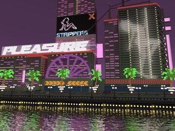 modern building - district des plaisirs Minecraft Map & Project