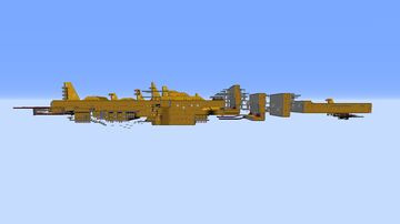 The Wing Fortress Zone Minecraft Map & Project