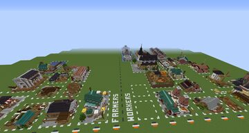 Industrial Building Pack (Anno 1800) Minecraft Map & Project