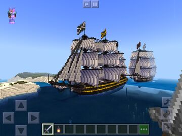 Heavy frigate Minecraft Map & Project