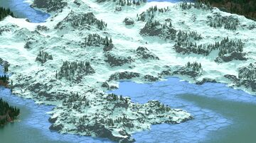 VastPlain - 10000x10000 custom terrarin Minecraft Map & Project