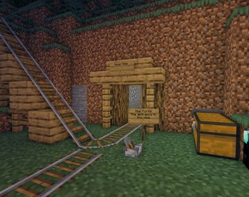 The Silver Mine Museum Minecraft Map & Project