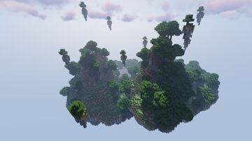 A small island with a lake and hills Minecraft Map & Project