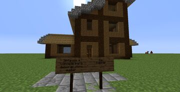 House To Decorate Minecraft Map & Project