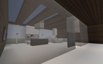 Minimalist Bungalow Minecraft Map & Project