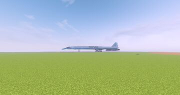 Boeing 2707-200 Minecraft Map & Project
