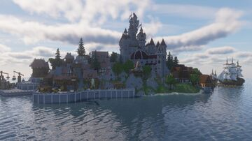 Western Island Minecraft Map & Project