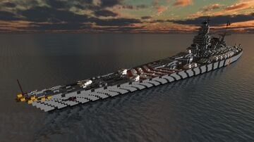 Fictional Imperial Battleship - Tiziano Vicellio Minecraft Map & Project