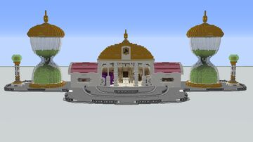 Hyperbolic Time Chamber Minecraft Map & Project