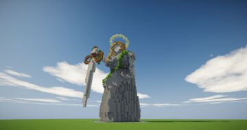 Organic/statue try Minecraft Map & Project