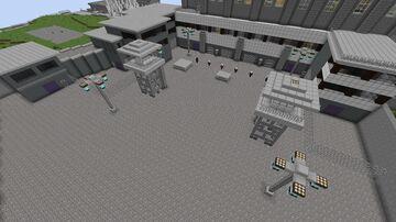 Worthington Labs / Alcatraz (X-Men 3: The Last Stand) Minecraft Map & Project
