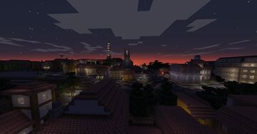 Mountain Town Minecraft Map & Project
