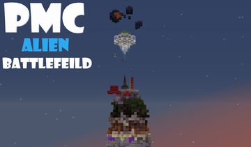 """""""Alien Battleground"""", an action packed build with a story to tell. 🍳*EASTER EGGS!!*🍳 Minecraft Map & Project"""
