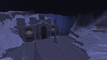 Gundabad, Dwelling of Durin's Folk in the Misty Mountains (W.I.P) Minecraft Map & Project