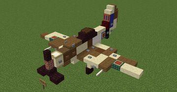 Supermarine Spitfire MK.XVIIIe Minecraft Map & Project
