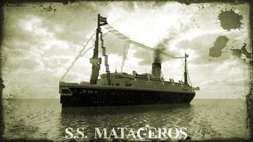 SS MATACEROS [FULL INTERIOR] Minecraft Map & Project