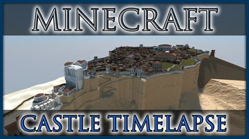 Desert Castle of Masada Minecraft Map & Project