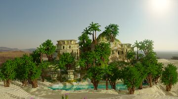 Paradise Oasis Minecraft Map & Project