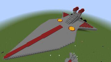Bad Looking Venator Class Star Destroyer Minecraft Map & Project